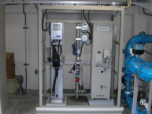 水質計器設置例