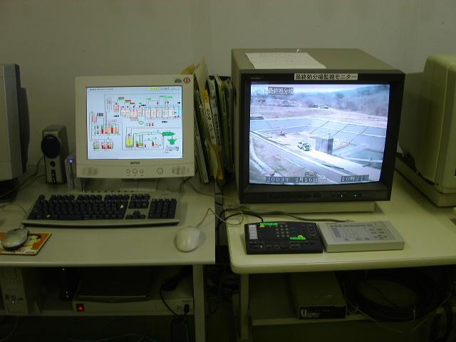 遠隔監視設備例