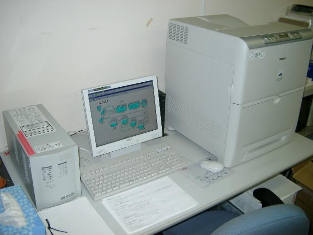 中央監視装置例