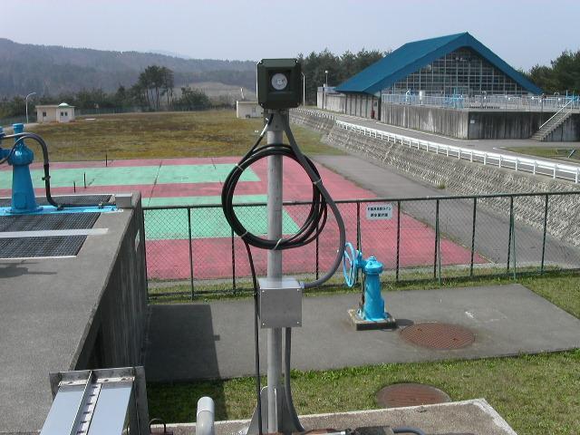 投込式水位計設置例